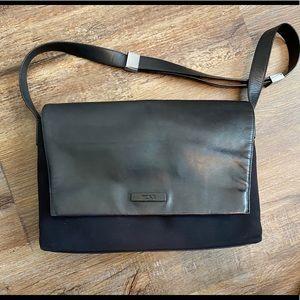 Tumi Leather & Nylon Bag